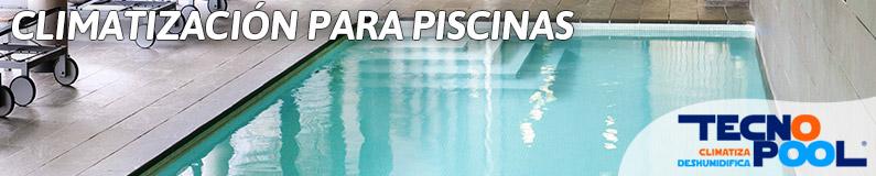 Climatización para piscinas