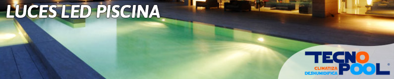 Luces led piscina