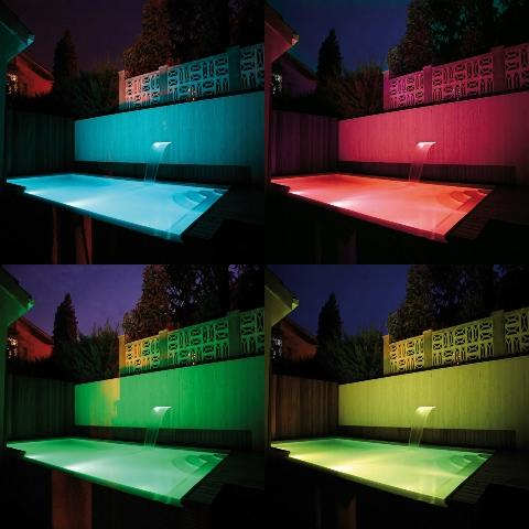 Iluminacion led piscina leds piscina for Iluminacion piscinas