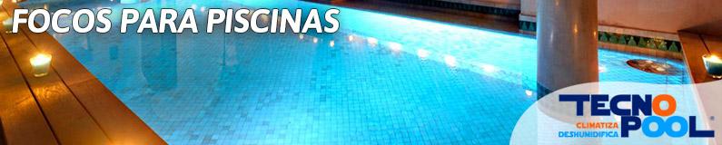 Focos para piscina