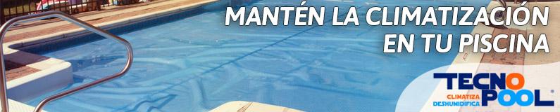 Manten la climatización en tu piscina