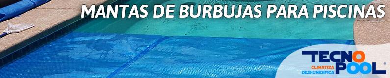 Mantas de burbujas para piscinas